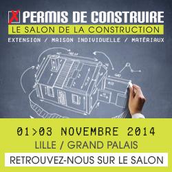 Salon permis de construire 2014 lille grand palais bois home - Salon a lille grand palais ...