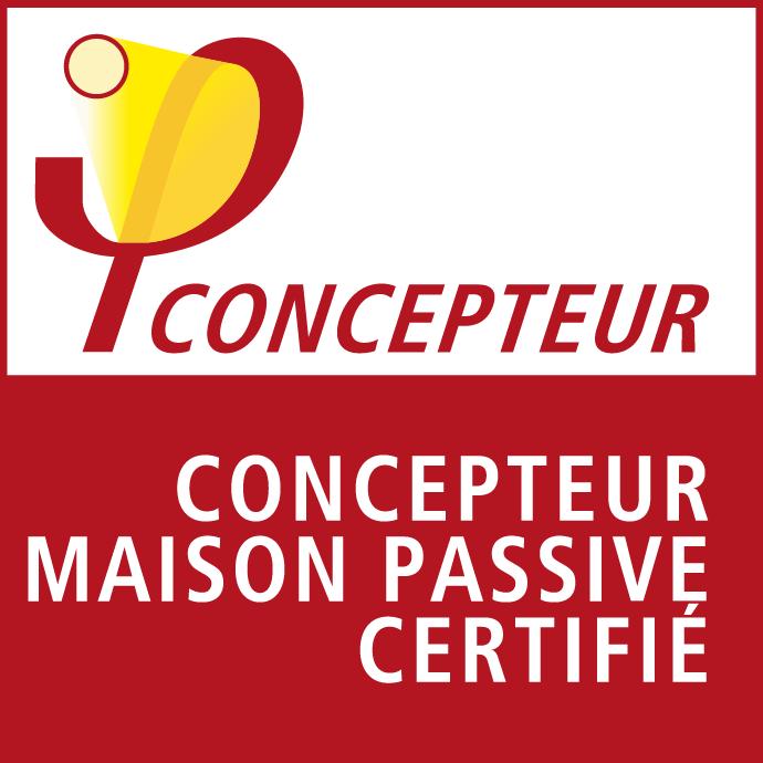 Logo Concepteur Europeen Maison Passive - Passivhaus - Bois&Home